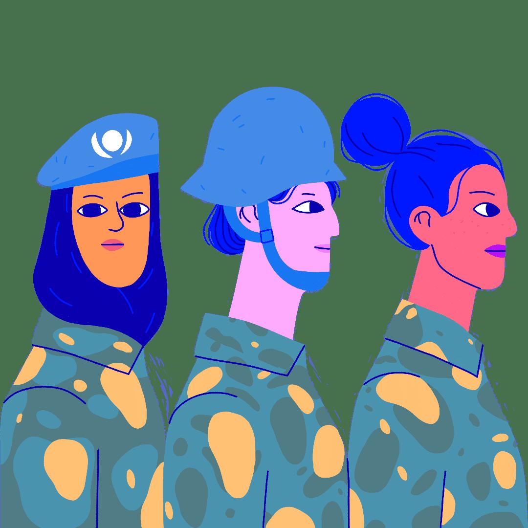 Frauen, Frieden und Schicherheit